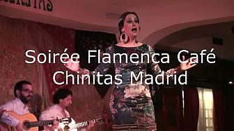 Soirée Flamenca café de Chinitas Madrid