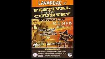 12 au 15.08.17 #Lavardac 4è épisode : Festival Danse #country animation 3 #tvlocale.fr