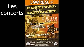 08.17 #Lavardac 5 è épisode  Festival de danses #country : les concerts. #tvlocale.fr