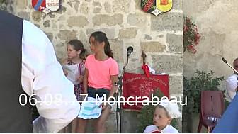 Moncrabeau 3è épisode : deux jeunes #Reines au #concourt de #menterie #tvlocale.fr