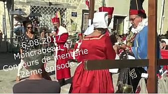 #Moncrabeau, 2 ème épisode : une #Reine au concours de menterie !#tvlocale.fr